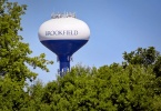 Water Tower in Brookfield, WI