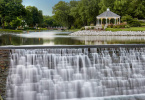 Mill Pond Park in Menomonee Falls, WI